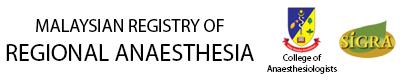 Malaysian Registry of Regional Anaesthesia Logo